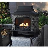 Kingston Outdoor Fireplace