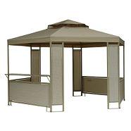 For Living Gazebo Canopy Sandstone Gardenview
