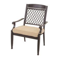 Canvas Covington Cast Patio Dining Chair Canadian Tire
