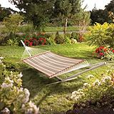 Quilted Striped Hammock