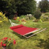 basketweave hammock red hammock stand   canadian tire  rh   canadiantire ca
