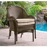 Brynn Resin Wicker Stacked Chair