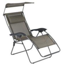 fauteuil gravit z ro avec pare soleil canadian tire