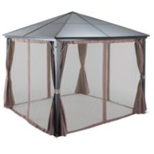 For living walls and netting for clarkson collection gazebo canadian tire - Toile goudronnee pour abri de jardin ...