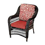 CANVAS Catalina Collection Wicker Patio Armchair