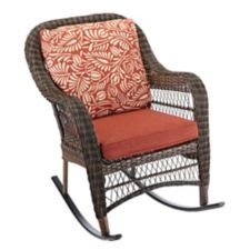 canvas catalina collection wicker patio rocking chair canadian tire. Black Bedroom Furniture Sets. Home Design Ideas