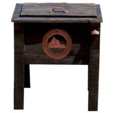 Glaci re de jardin en bois 57 pintes canadian tire for Table exterieur canadian tire