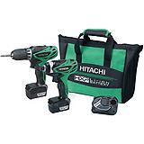Hitachi 12V Lithium-Ion Cordless Combo Kit