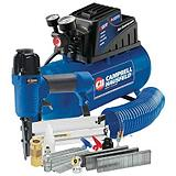Campbell Hausfeld Compressor Kit & Nailer