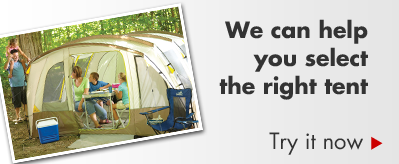 We can help you select the right tent