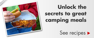 Unlock the secrets to great camping meals