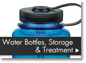 Water Bottles, Storage and Treatment