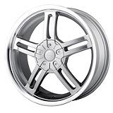 Sacchi S12 212 Rim in Hypersilver with Machined Lip