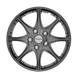 Michelin Gunmetal Wheel Cover KT976, 16-in...