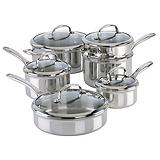KitchenAid 11-Piece Clad Stainless Steel C...