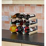 Bottle Store 9 Bottle Wine Rack