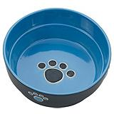 Fresco 7-in Blue Dog Dish