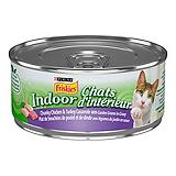 Purina Friskies 156g Indoor Chunky Chicken...