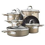 KitchenAid Hard Anodized Cookware Set, 11-pc