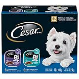 Cesar 12-pack Pork and Top Sirlion Dog Food