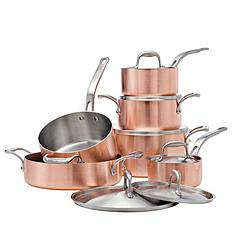canadian tire lagostina euro clad copper cookware set 12 pc customer reviews product. Black Bedroom Furniture Sets. Home Design Ideas