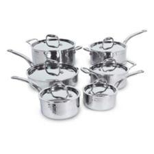 Lagostina artiste clad hand hammered cookware set 12 pc - Batterie de cuisine lagostina ...