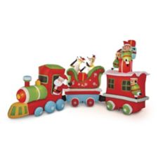christmas train inflatable 16 ft long canadian tire