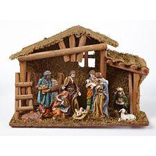 Traditional nativity scene canadian tire - Creche de noel a vendre ...