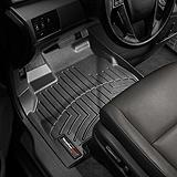 WeatherTech® Custom Front Floor Liner, Black