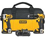 DeWALT 20V Max Drill and Impact Driver Combo Kit