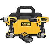 DeWALT 12V Drill/Impact Kit