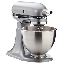 KitchenAid Clic Plus® Tilt-Head Stand Mixer, Silver Metallic ... on