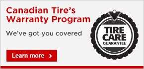 Canadian Tire Warranty