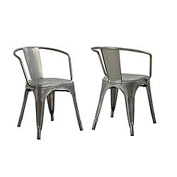 Canadian tire metal chairs 2 pk customer reviews for Chaise 0 gravite canadian tire