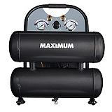 MAXIMUM Ultra Quiet 4.6 Gallon Twinstack Compressor