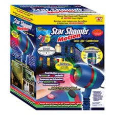 As seen on tv star shower motion laser light canadian tire for Star shower motion m6