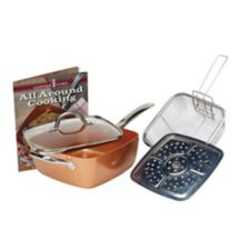 Copper Chef Deep Square Pan Set 5 Pc 9 5 In Canadian Tire