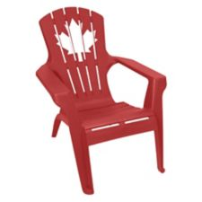 Gracious living canada day adirondack chair canadian tire for Chaise adirondack canadian tire
