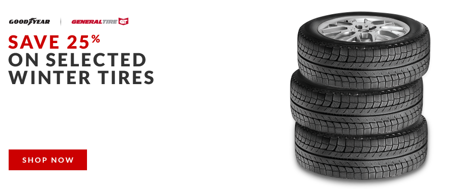 Save 25% on Tires