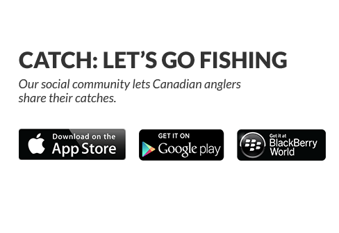 Our digital community lets Canadian anglers share their catches.