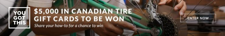 $5000 in Canadian Tire Gift Cards to be won