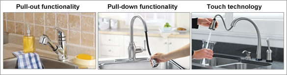 Kitchen Faucets Features.