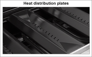 BBQ Heat distribution plates