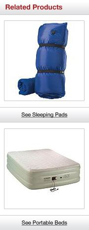 Related Products. See Sleeping Pads and See Portable Beds