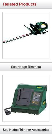 Related Hedge Trimmer Products
