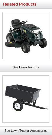 Related Lawn Tractor Products