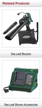 Related Leaf Blower Products