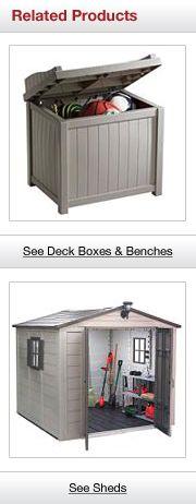 Related Outdoor Storage Products