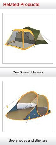 Related Products. See Screen Houses. See Shades and Shelters