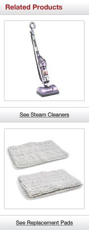 Related Steam Cleaners and Replacement Pads